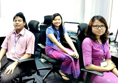 オフショア開発チームのメンバー